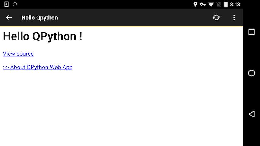 QPython's main features — QPython 0 9 documentation